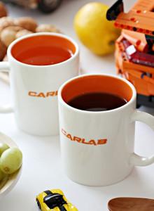 [연말할인] 예쁜 주황색 카랩 시그니처 머그컵