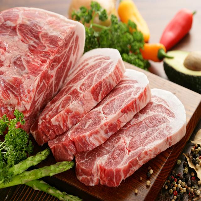[강원산돈]냉동목심(보쌈용) 1kg