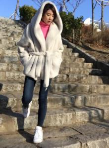 눈꽃송이 뽀글이자켓 여성겨울자켓 털코트