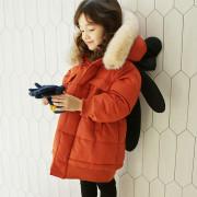 (겨울신상)에헴 곰돌이패딩[오렌지, 베이지] XS~L