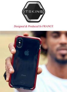 (한국총판) 아이폰8 케이스 프랑스 ITSKINS 슈프림 에어포켓 케이스
