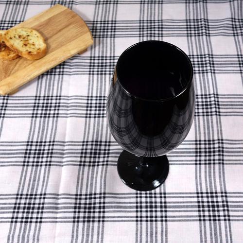 블랙 보르도 와인 글라스 880ml 1P 와인앤쿡 : 와인앤쿡