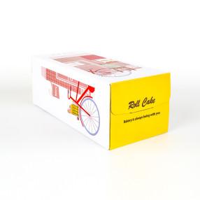 롤케익세트 1호 쉬폰롤(일반롤케익보다 1센티높음) (롤케익박스/롤케익상자/롤케익포장/cake box/케익상자/케익박스/케익포장/케이크 상자/케이크 박스/케이크 포장)