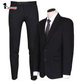 남자 겨울 정장 T362 슬림핏 블랙 슈트 싱글 양복