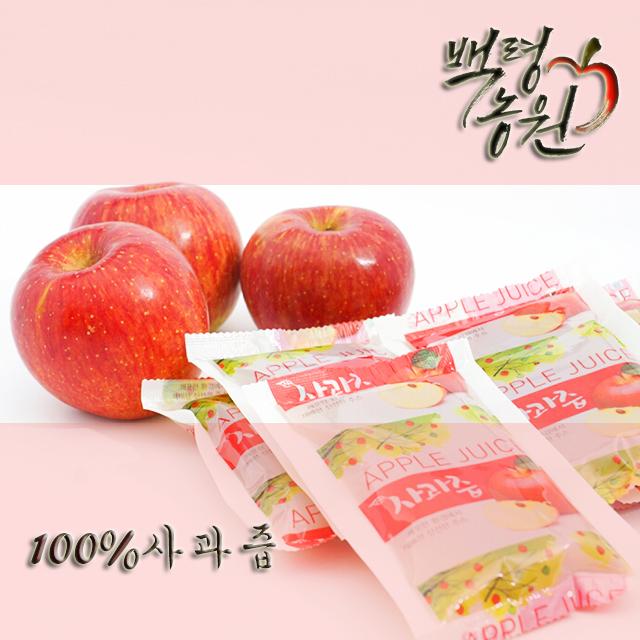 [정선사과] 사과즙 50봉