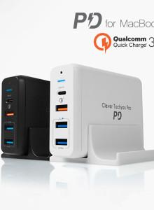 클레버 타키온 프로 USB-C PD 고속멀티충전기 CTM-05