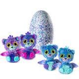 해치멀스 서프라이즈 피캣에그 스핀마스터 퍼플 보라 Hatchimals Surprise Peacat Hatching Egg Purple