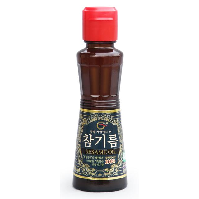 홍천 남산 참기름 160mL (국산)