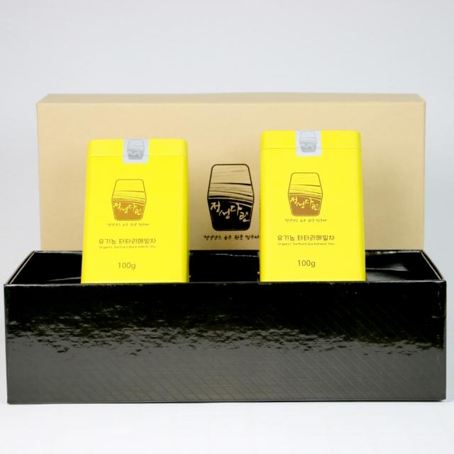 유기농 타타리 메밀차 선물세트(100g x 2) / 국내산 쓴메밀차