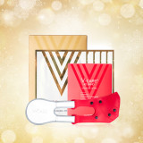 [시그니처 턱살 세트] 변정수 빨간밴드 1개 + 리바이탈팩 1박스