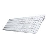 아이락스 KR-6402 아이솔레이션 펜타그래프 알루미늄 키보드 / USB 2포트 내장 / 애플스타일 / 멀티키 / 기능키