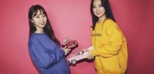 [입점할인] 카랩 자동차 테마 걸 기모 맨투맨_블루