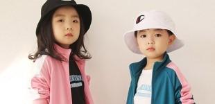 (봄신상)로켓샐러드 브랜드져지 상하세트[핑크, 청록, 검정] 5호~15호