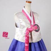 [중고][S급] 여자 배자 KBJ001(66 사이즈)_한복을 한층 고급스럽게 만들어주는 예쁜 고급 배자