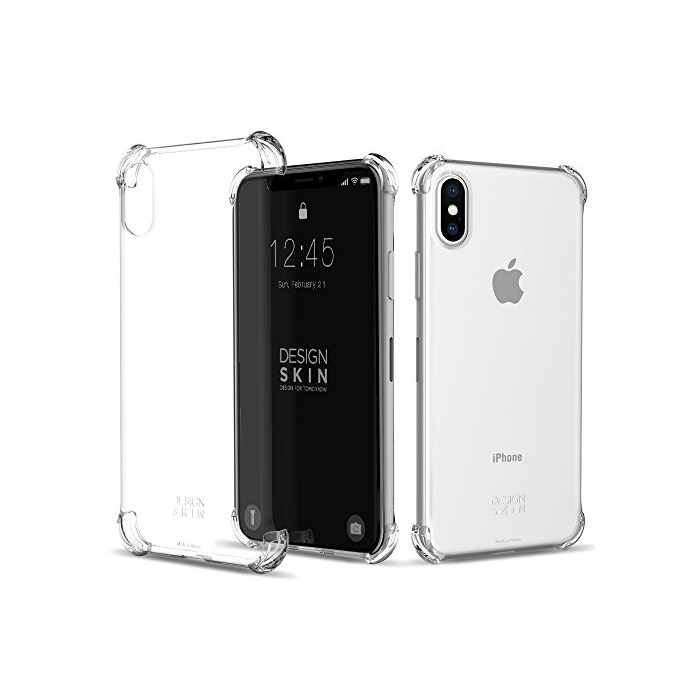 [해외]iPhone X Case (5 8) DesignSkin Corner Shock Absorbing Ultra Slim Light Thin Edge Cushion Bumpe : FINDME - 네이버쇼핑