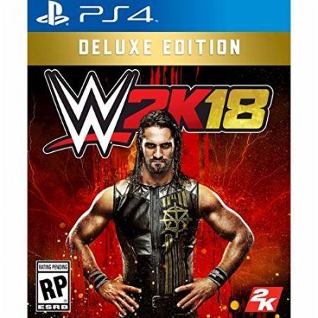 해외 WWE 2K18 Deluxe Edition PlayStation 4 デラックスエディションプレイステ ション4北米英語版 [ 行輸入品] 일본 직구 : 쿨로봇 - 네이버쇼핑