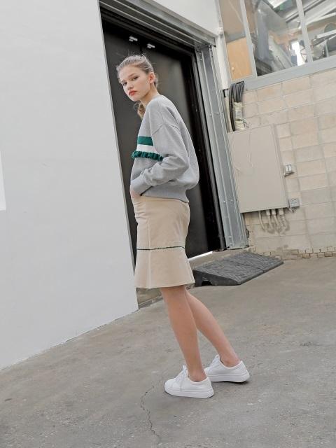 [NOIR] F Sweatshirts : 더블유컨셉 - 네이버쇼핑