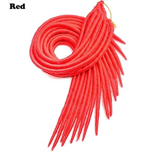 6packs Hot 20 inch 20 roots 100g/pack faux locs crochet dreadlocks hair Synthetic Crochet Braid hai : shoppingUSA - 네이버쇼핑