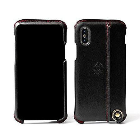 [HUKURO] iPhone X 케이스 가죽 토치 가죽 (오른쪽 소지 블랙 × 레드 실) [HUKURO] iPhone X Case real leather Toch/J183072 : 하우글로벌바이 - 네이버쇼핑