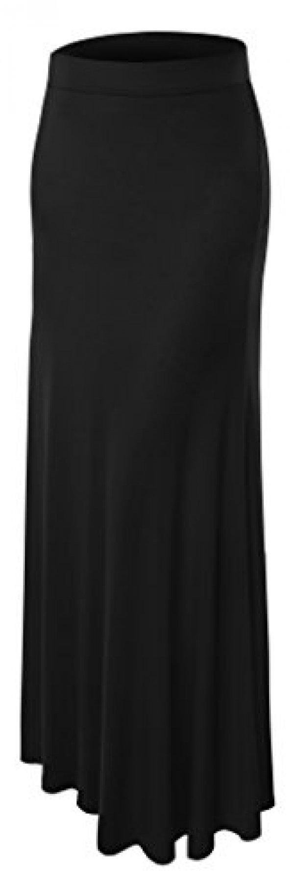 여자 Plue Size Floor Lengh Maxi Skirt 4X-Large 블랙 : 블랙프라이데이 - 네이버쇼핑