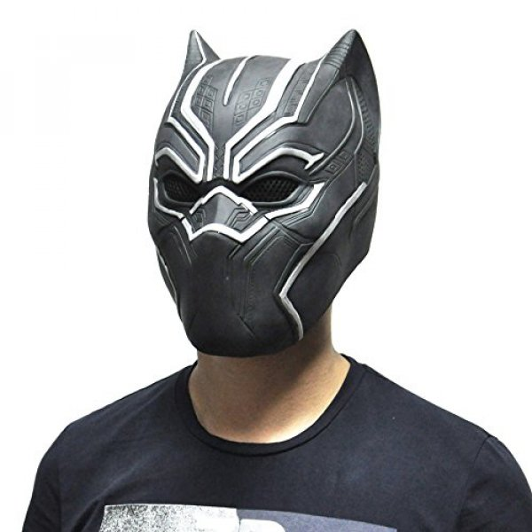 Party Mask Full Face 블랙팬서 Masks Movie Cosplay Latex rubber Party Props : Songsongshop - 네이버쇼핑