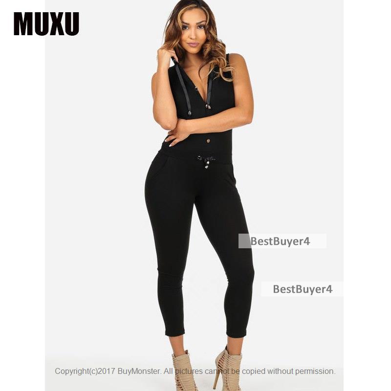 [점프슈트] Combinaison femme 몸 feminino combishort jumpsuit women sexy BLACK jumpsuit 대 한 women v 넥 jum : 베스트바이어4 - 네이버쇼핑