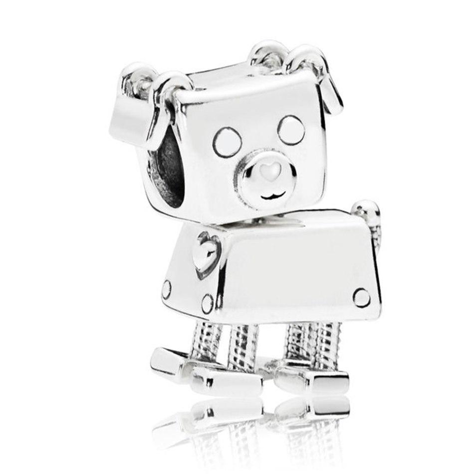 정통 925 Sterling Silver Bead Bobby 봇 개 동물 Charm Fit Pandora Bracelet Bangle DIY Jewelry : 8249 - 네이버쇼핑