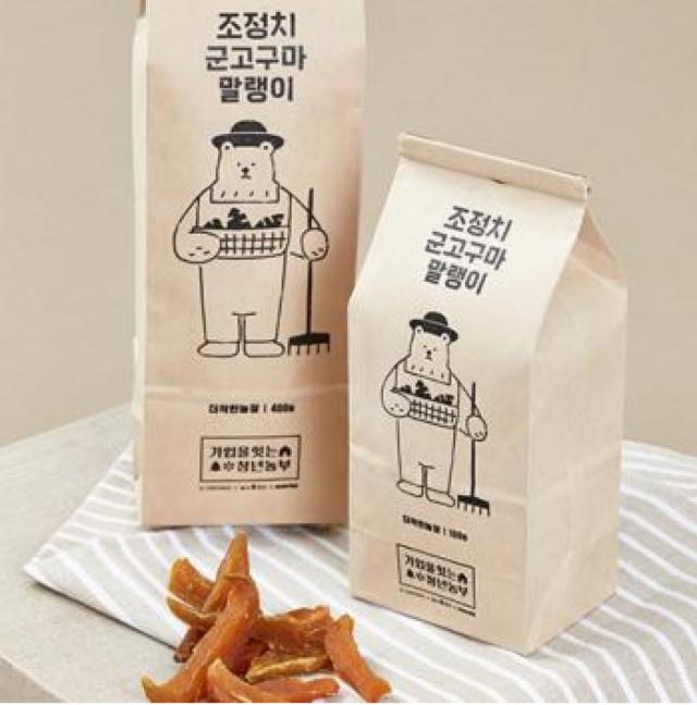 치악산(무농약)군고구마 말랭이 [100g]