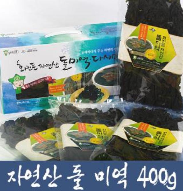 화진포 자연산 돌미역 [400g]