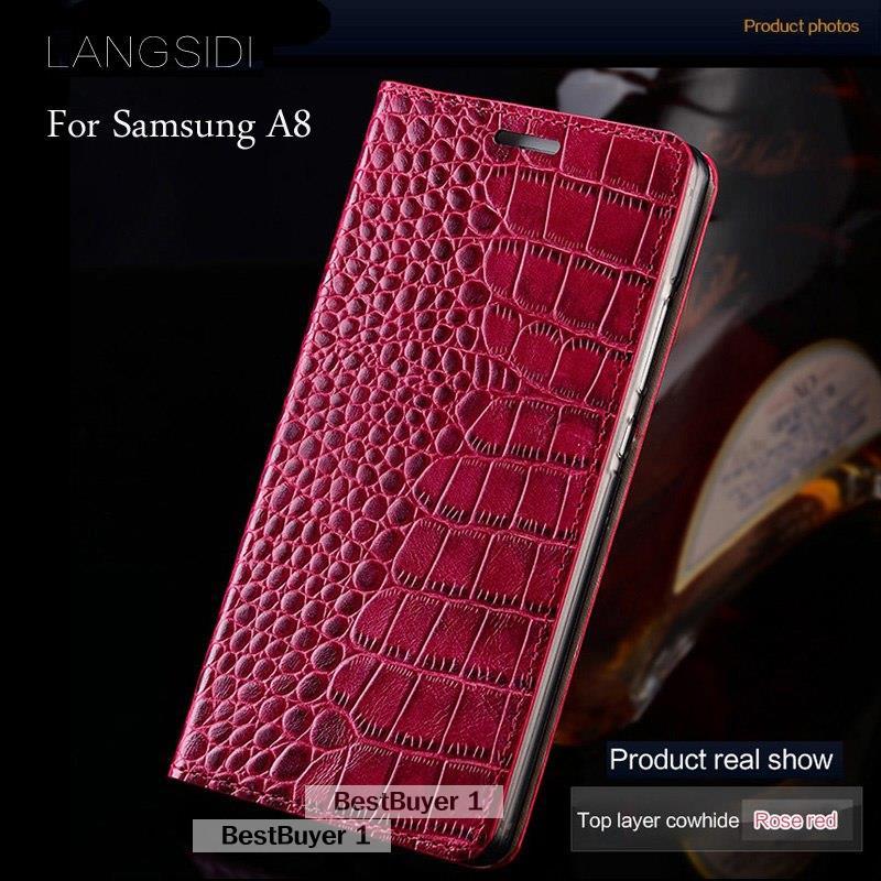 Lüks marka cep telefonu kılıfı hakiki deri 악어 평 질감 telefon kılıfı 대 한 Samsung Galaxy A8 제 telefon kılıfı: 베스트 - 네이버 쇼핑