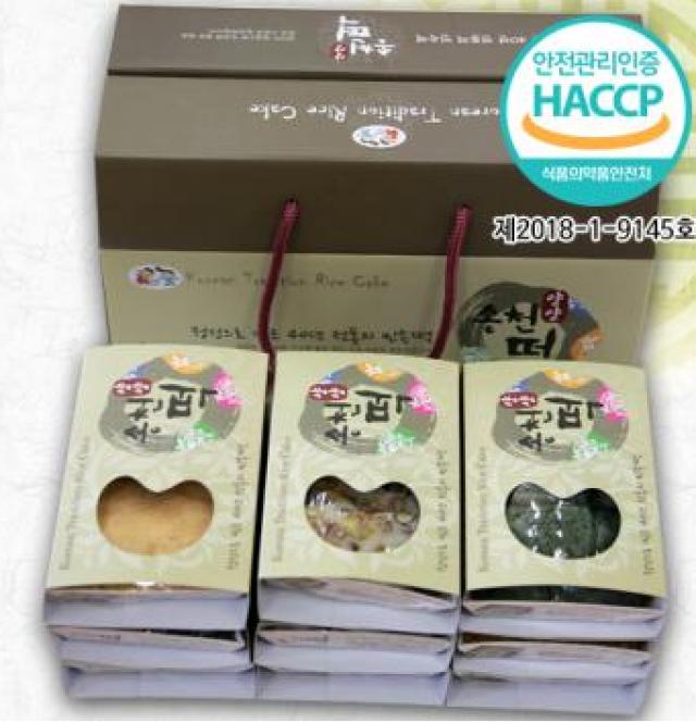 송천 전통 떡 선물세트(버스터미널배송, 택배도가능) [5kg 내외]