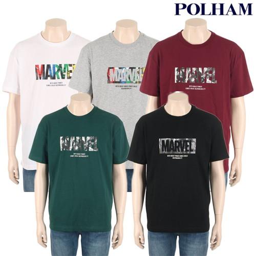[AK PLAZA][폴햄] 공용 마블 그래픽 반팔 티셔츠(PHZ2TR3220) : AK PLAZA 2관
