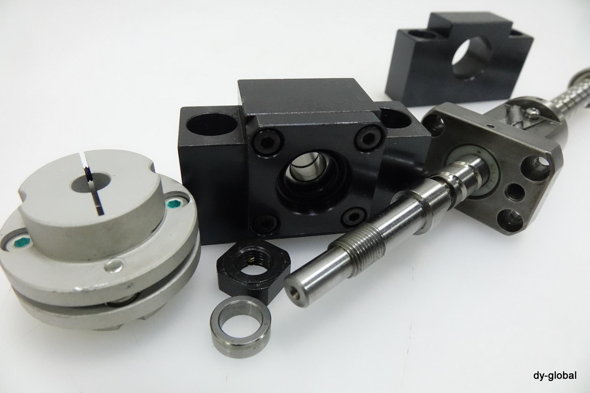 NSK 중고 연삭 볼스크류 Ground Ball Screw W1201FA-5P-C5Z+230mm+AK10+AF10+Coupling Mini lathe DIY CNC : FAParts - 네이버쇼핑