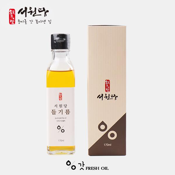 서원당 갓들기름 170ml 강원마트