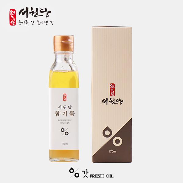 서원당 갓참기름 170ml 강원마트