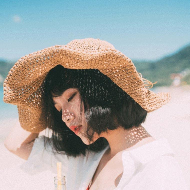심플 왕골모자/밀짚모자/왕골모자 : 위티플러스