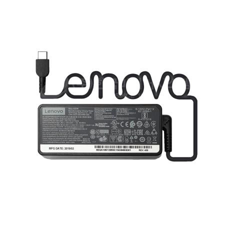 Lenovo 65W C타입 어댑터 E485 E490 E490S E495 T495 충전기 -케이블 별도