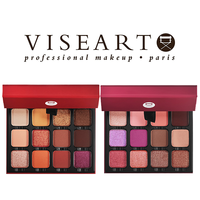 비제아르 로즈 에디트/웜 에디트 아이섀도우 팔레트 2종 VISEART Rosé EDIT Warm EDIT Eyeshadow Palette : Daon Store - 네이버쇼핑