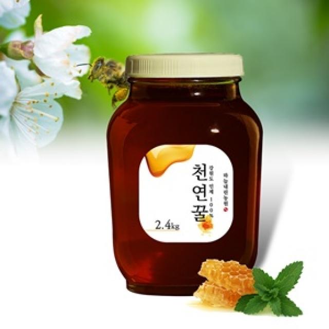 [하늘내린농원] 씁쓸한 맛의 매력! 밤꿀 2.4kg