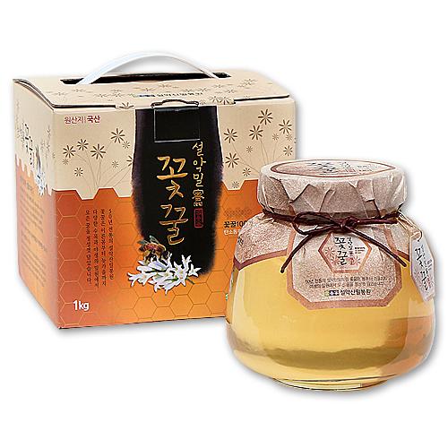 gw_[꽃꿀100%] 아카시아 꿀단지1.0kg
