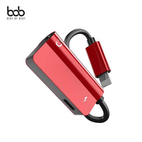 bob 아이폰 호환 8핀 3.5MM 듀얼 이어폰젠더 어댑터 충전+음악+통화 iPhone 11 프로 XR XS 맥스 X 8 7 Plus : 위젠커머스 - 네이버쇼핑