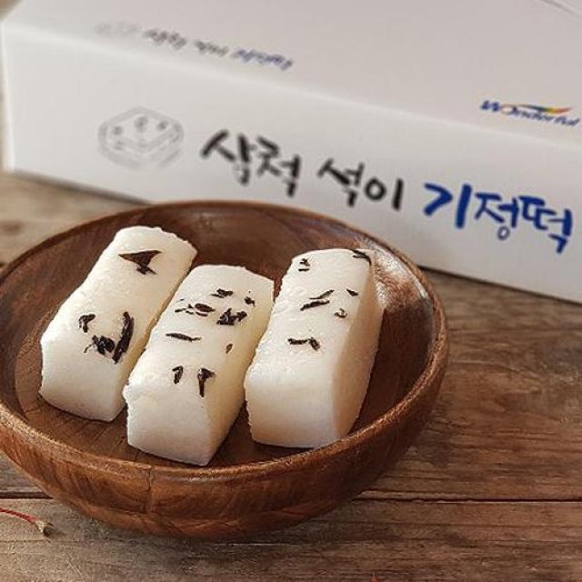 삼척 석이 기정떡 1박스(40개)