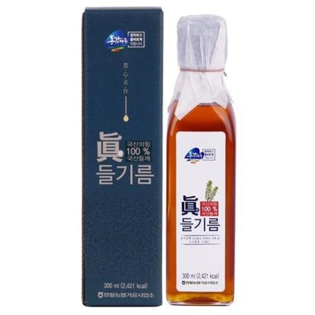 동강마루 진(眞) 들기름 300ml