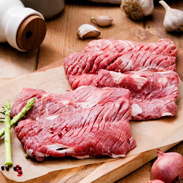 [명인한돈]갈매기살 구이용 300g, 국내산 1등급 돼지고기 치악산금돈