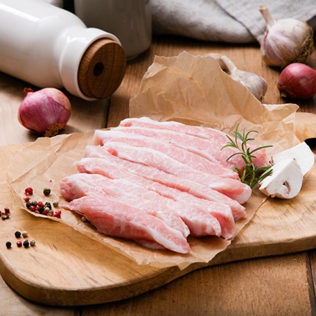 [명인한돈]항정살 구이용 300g, 국내산 1등급 돼지고기 치악산금돈