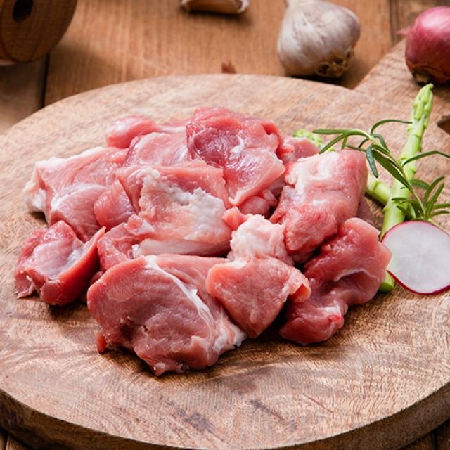 [명인한돈]앞다리살 찌개·국거리용 500g, 국내산 1등급 돼지고기 치악산금돈