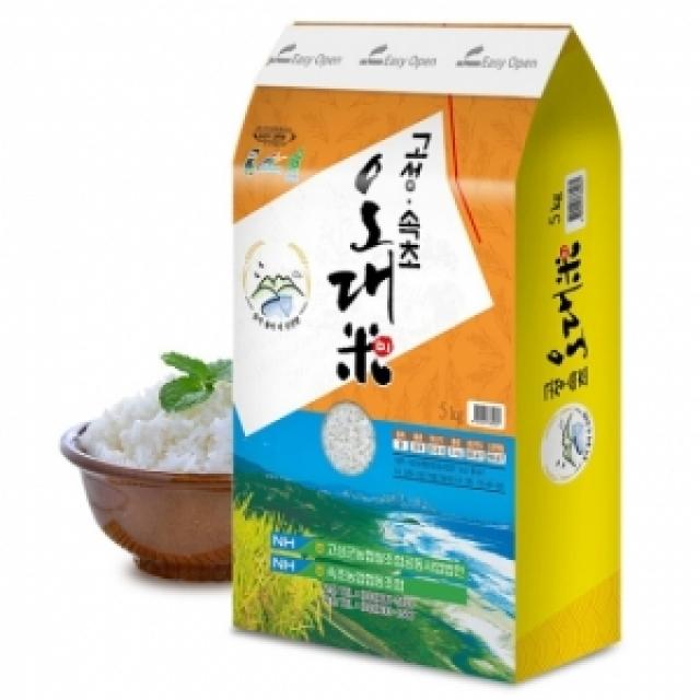 (강원)[고성농협쌀] 2019년산 고성속초오대미 쌀 20kg