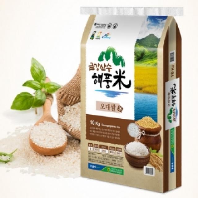 (강원)[고성농협쌀] 2019년산 금강산수해풍미 쌀 10kg