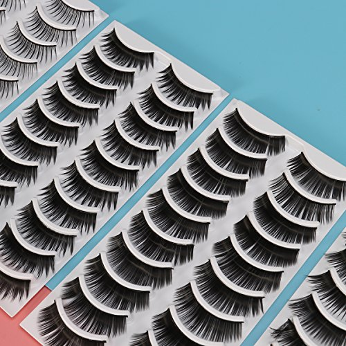 Frcolor 8-Style 80 Pairs Natural Fake Eyelashes Thick Long Eye Lashes Black Soft Fake Lash : shoppingUSA - 네이버쇼핑