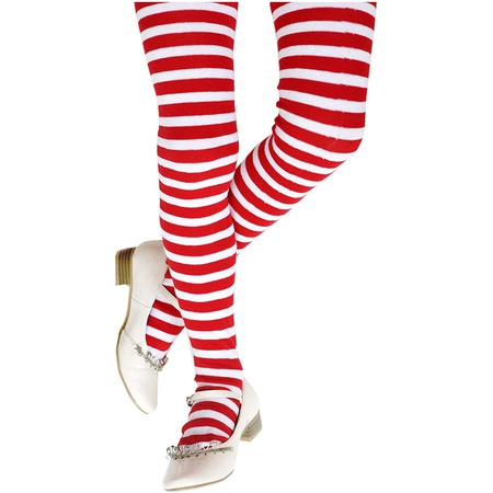 HOL크리스마스 코스프레 파티의상 복 S244 Christmas costume Funny Party Hats Red and White Striped Tights - Costume : 인유어백 - 네이버쇼핑
